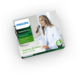 SpeechMike Premium Air Wireless Dictation Microphone